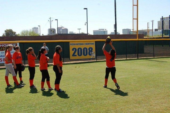 Women's Softball Phoenix College vs. Paradise Valley College Phoenix, AZ #Kids #Events