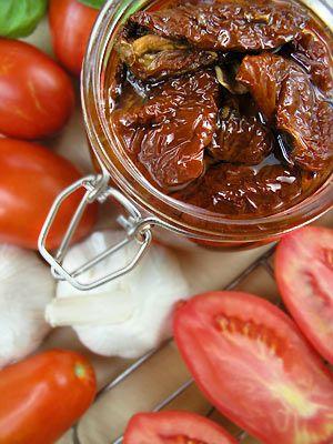 Suszone pomidory na sposób domowy