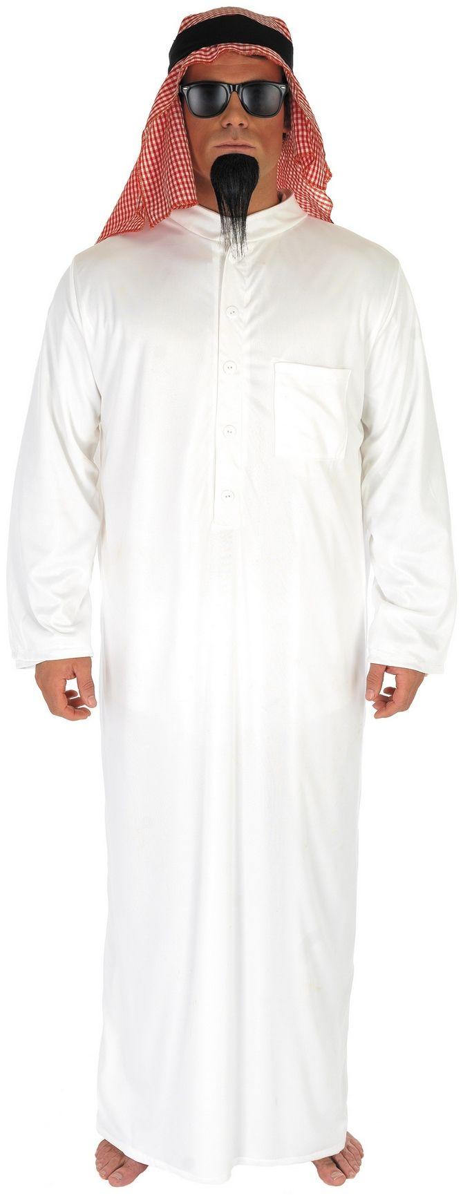 Mens Oil Sheikh Arab Fancy Dress Costume FUN2784 #snowedin #onlineshopping