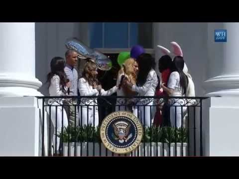 Fifth Harmony singing Happy Birthday @ the White House