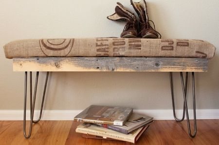 Natural Home Design: Recycled Burlap Coffee Sack Ideas