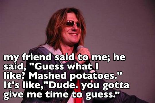 Mitch Hedberg, the one-liner master…