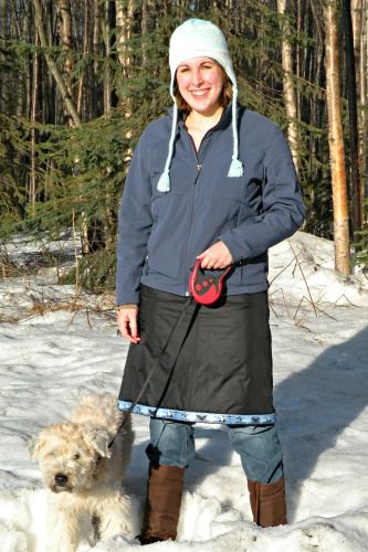 Snow Skirt pattern, $21.99  Be warmer this winter!