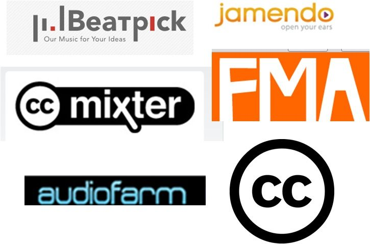 ¿Cómo buscar #música con #creative #commons? #mixter #FMA #audiofarm #beatpick #jamendo