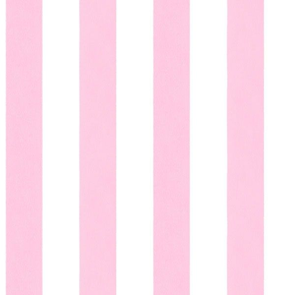 Pretty in pink stripe wallpaper. English Florals Collection by Galerie - G34359