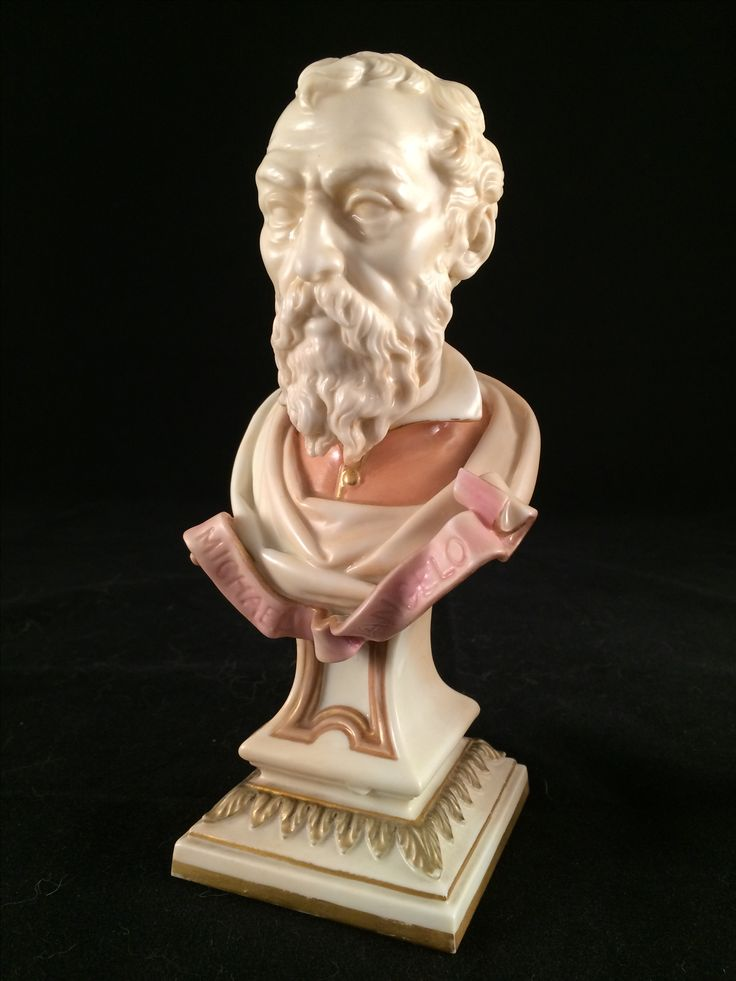 "Michael Angelo ""Royal Worcester created by James Hadley"""
