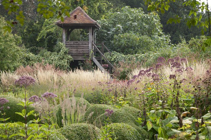 Henk Gerritsen Garden, Waltham Place, Berkshire, England (near London) Photo: Henk Dijkman