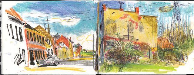 Urban Sketchers: Back to Doel