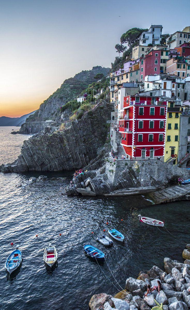 #boats tied up on #coast of #Tuscany