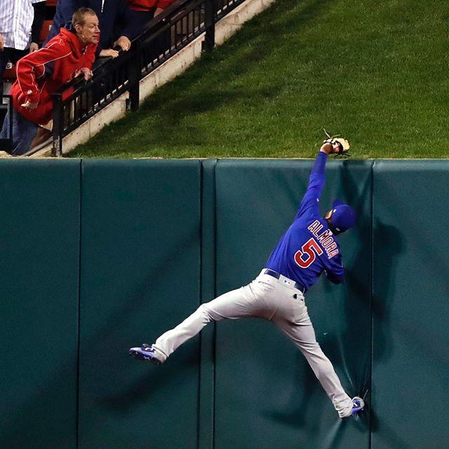 Looks a lot like an MJ move! // Cubs Photo Stream | MLB.com