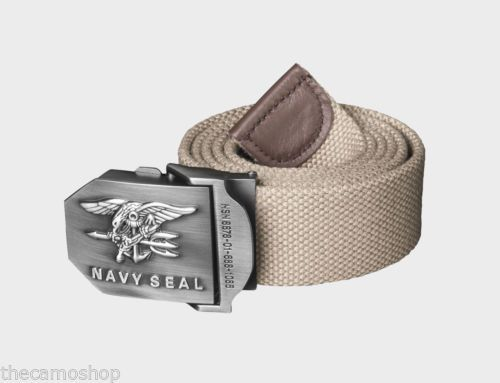 Helikon-Khaki-Navy-Seal-canvas-belt-mens-tactical-army-metal-press-buckle