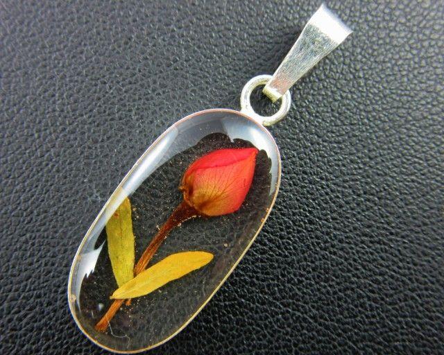 PRETTY FLOWERS SILVER PENDANT   GTJA 163 fashion jewellery