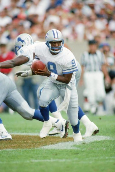 Rodney Peete, Quarterback, Detroit Lions