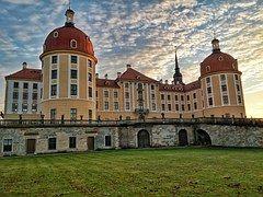 Zámek, Castle Moritzburg, Drážďany