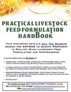 animal feed formulation book