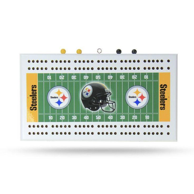 Pittsburgh Steelers Cribbage Game Board