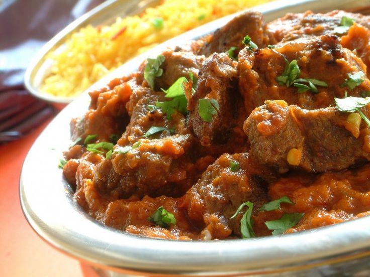 Rode Curry Biefstuk Met Gele Rijst recept | Smulweb.nl