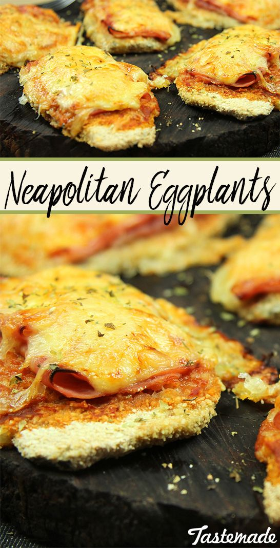 Eggplants taste best when they're breaded, slathered with tomato sauce, layered…
