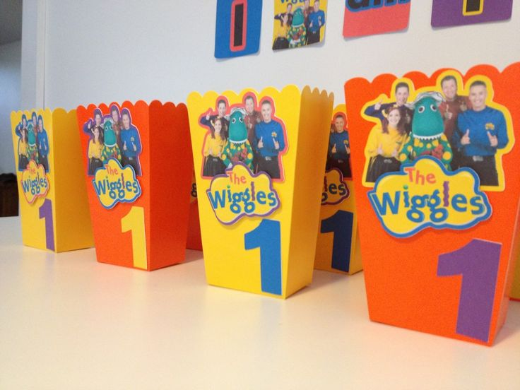 FREE The Wiggles Pope Box Birthday Party Printables to download and print at home - by Cake Crusaders Blog.com