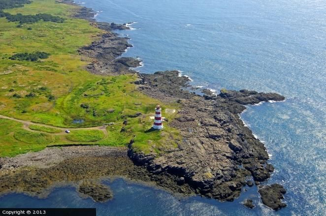 Brier Island lighthouse [1944 - Brier Island, Nova Scotia, Canada]