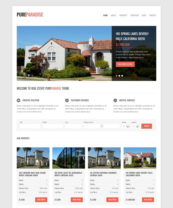 21 best 21 More of the Best Real Estate WordPress Themes images on ...