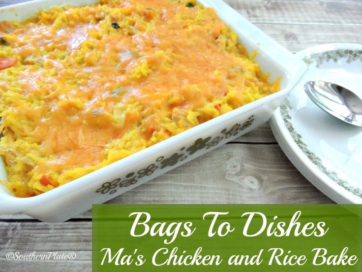 The overwhelming response to my Bags To Dishes series continues, so I'm bringing you more recipes! These shelf stable recipes can ensure you never have to won