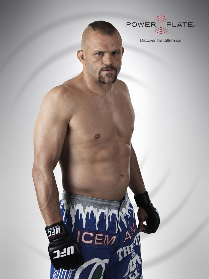 This is Chuck Liddell.  On vacation this lady thought Patrick was Chuck Liddell.