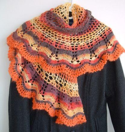 Crochet shawl. free pattern
