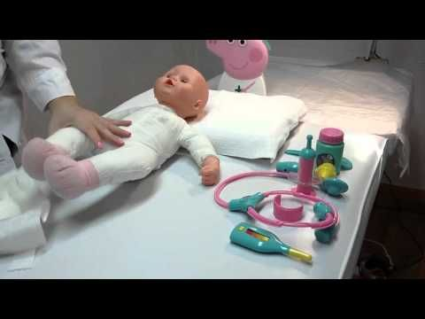 Baby doll goes to the doctor- Peppa kit