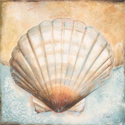 pinturas de conchas marinas - Buscar con Google