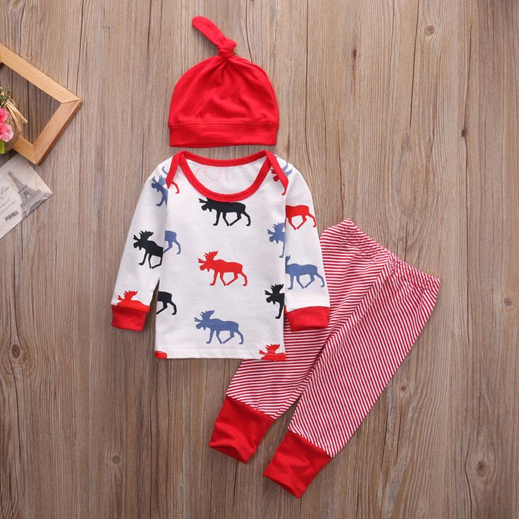 http://babyclothes.fashiongarments.biz/  Newborn Toddler Infant Baby Boy Girl Clothe Deer T-Shirt Tops+Striped Pants+Hat Baby Clothing Set Cotton Outfit Set, http://babyclothes.fashiongarments.biz/products/newborn-toddler-infant-baby-boy-girl-clothe-deer-t-shirt-topsstriped-pantshat-baby-clothing-set-cotton-outfit-set/, 	High quality and Brand new 100% 		Main Color: AS The Picture show	 		New in Fashion Christmas Day !!	 		Style:Casual	 	Material:  Cotton Attention plz: If your kid is…