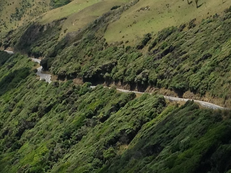 To think this used to be the main road over the hills to and from Wellington!