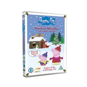 The perfect Christmas gift for the kiddies - Peppa Pig: Santa's Grotto on DVD!