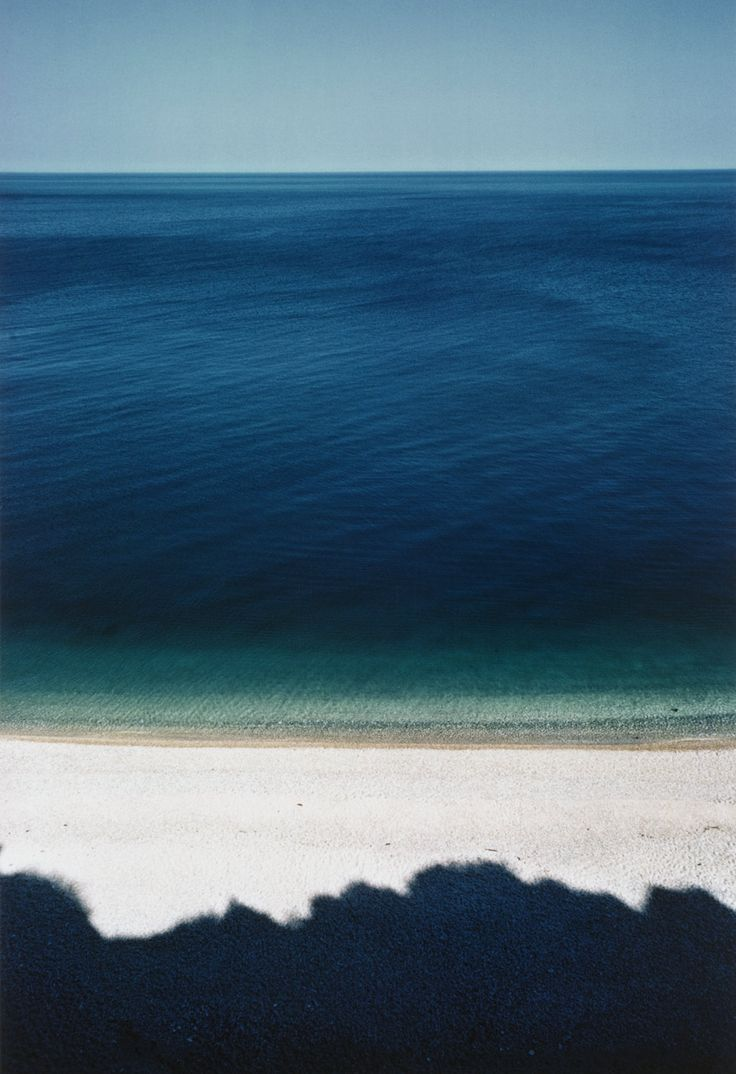 I would love a painting of this above my bed!   (Baia delle Zagare    photo by Franco Fontana, 1970)