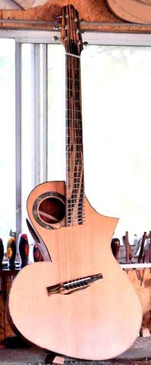 Egan Custom Guitars from Vancouver BC - the Bebop model
