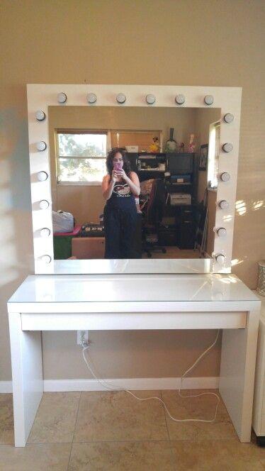 DYI Large Hollywood mirror   Vanity IdeasDiy. 9 best My DIY Large Hollywood Vanity Mirror images on Pinterest