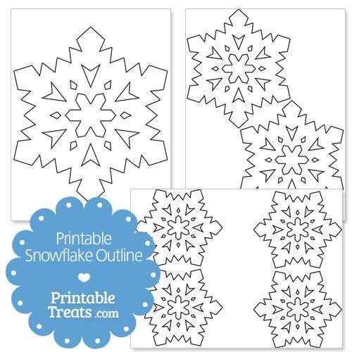 Snowflake Outline Template | 25 Unique Snowflake Outline Ideas On Pinterest Dove Commercial