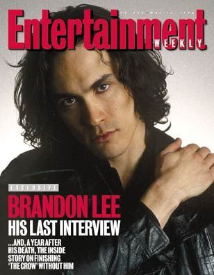 Brandon Lee - Entertainment Weekly Magazine [United States] (13 May 1994)