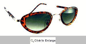 Raven Oval Resin Sunglasses - 422 Tortoise