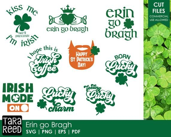 Erin go Bragh – Saint Patricks Day SVG and Cut Files for Crafters