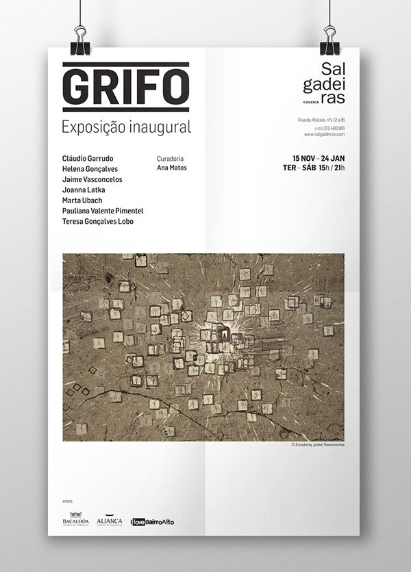 Galeria das Salgadeiras   Grifo on Behance