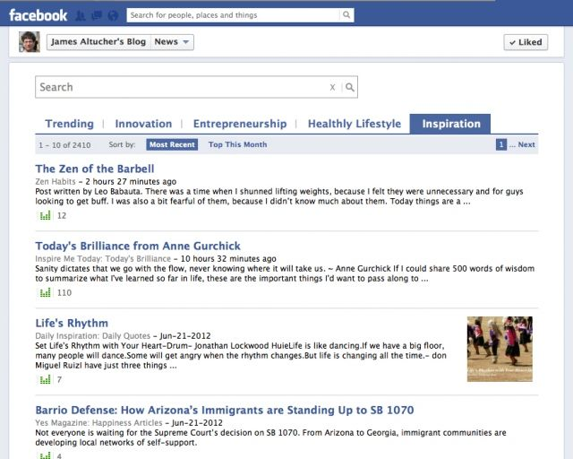 How to get 100,000 Facebook Likes for your blog fan page via @TechCrunch
