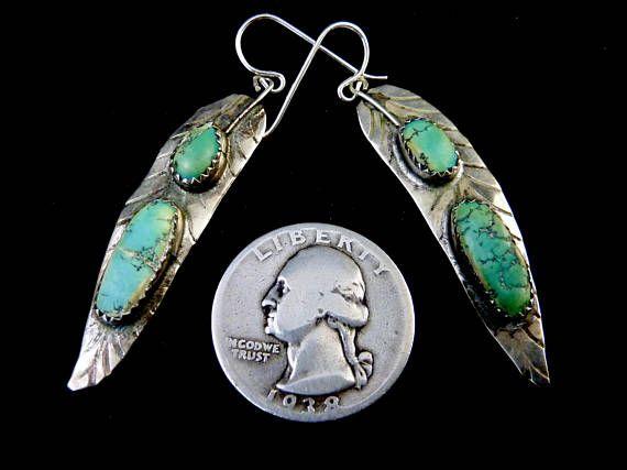 Angel Wing 2 Vintage Navajo Sterling Silver Dangle