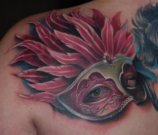 61 Jaw Dropping Chest Tattoos Meaning: 79 Best Images About Masquerade Tattoos On Pinterest