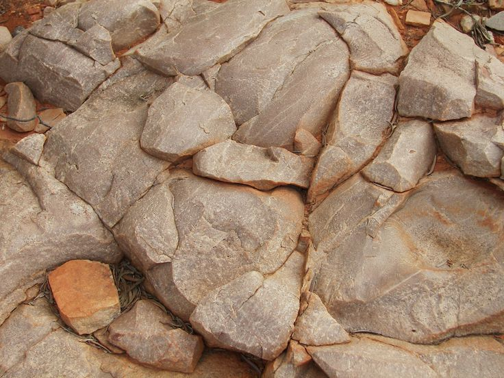 Weathered stone Alice Springs NT Australia
