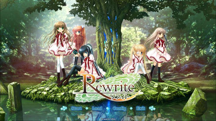 Visual Novel Rewrite : First Start