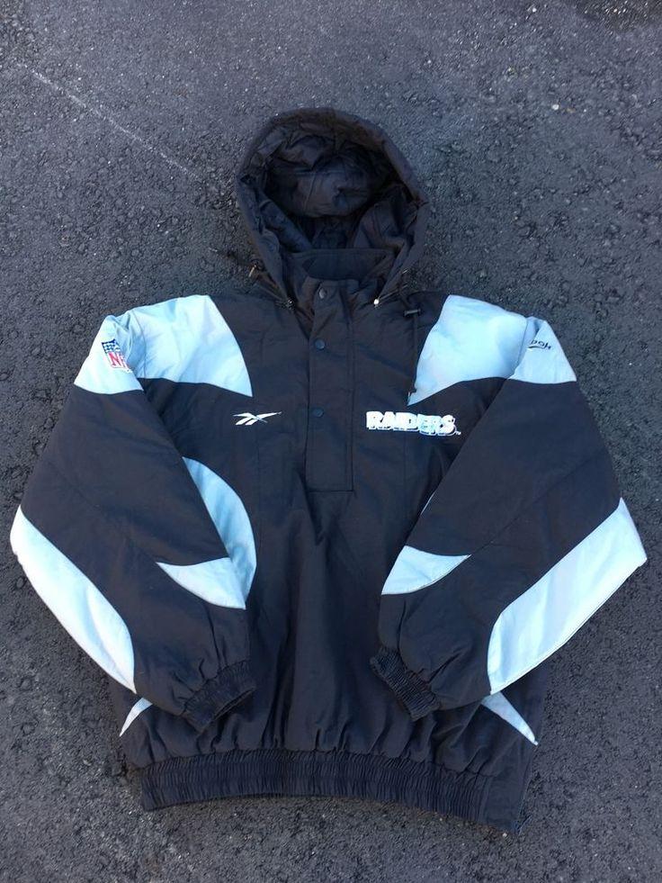 Reebok Proline NFL Oakland Raiders Jacket     eBay