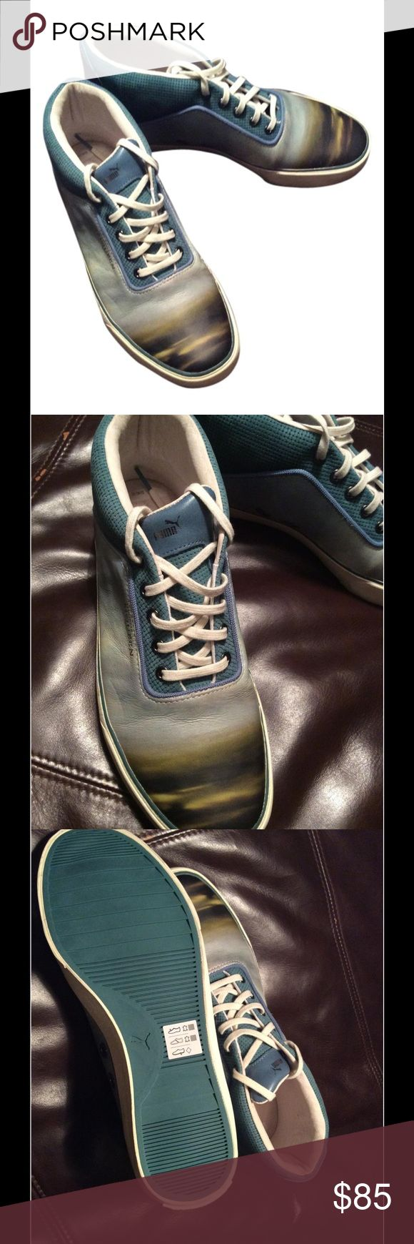 Alexander McQueen/ Puma Sneakers Mix match Right foot is 8 and left foot is 7, new shoes with out boot. Alexander McQueen Shoes Athletic Shoes