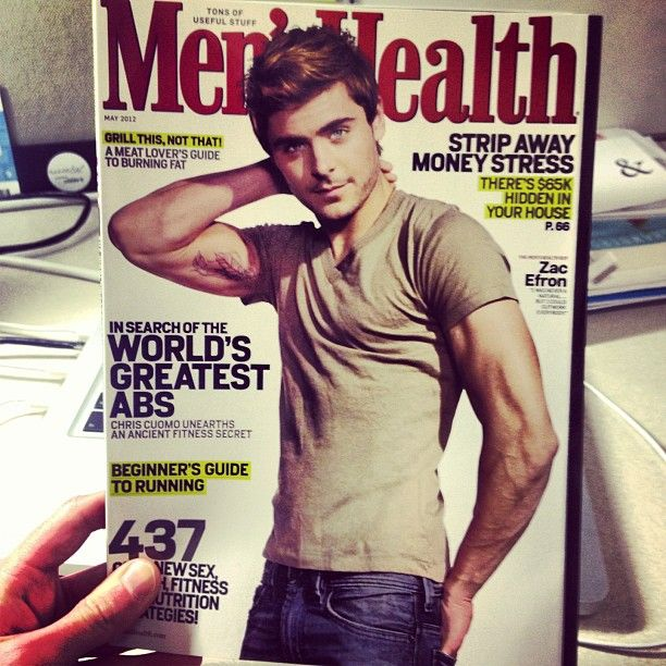 Social media EXCLUSIVE: Here's a sneak peek at Zac Efron on the cover of our May issue, which hits newsstands on April 17. (By the way, you are the first ones to see this outside of our editorial team. Cool, right?) Help us spread the word by sharing this image! You heard it here FIRST! (Note: this is the subscriber version.)