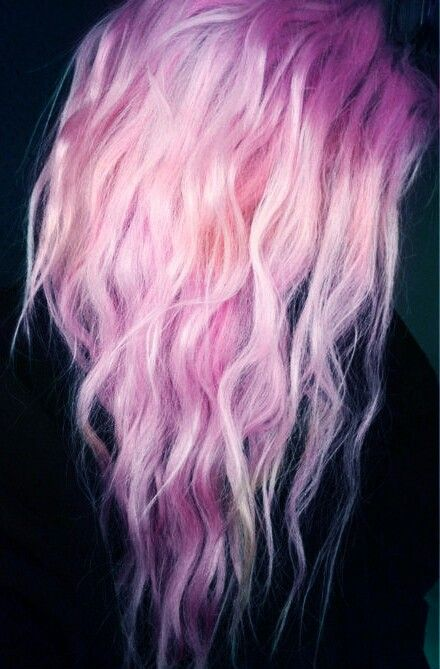 Pastel Pink Cotton Candy Hair